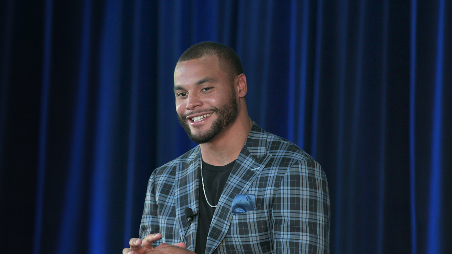 Dak Prescott on Attitude, Opportunity and Success