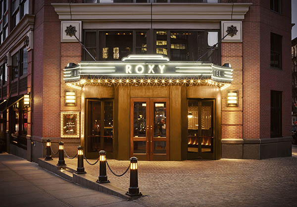 exterior of the Roxy Hotel