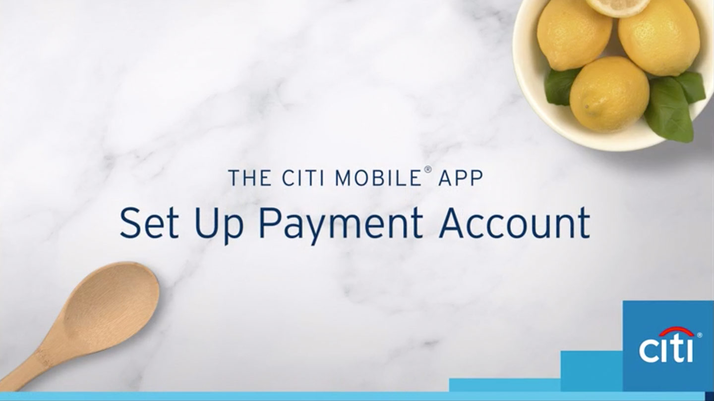 set up payment account